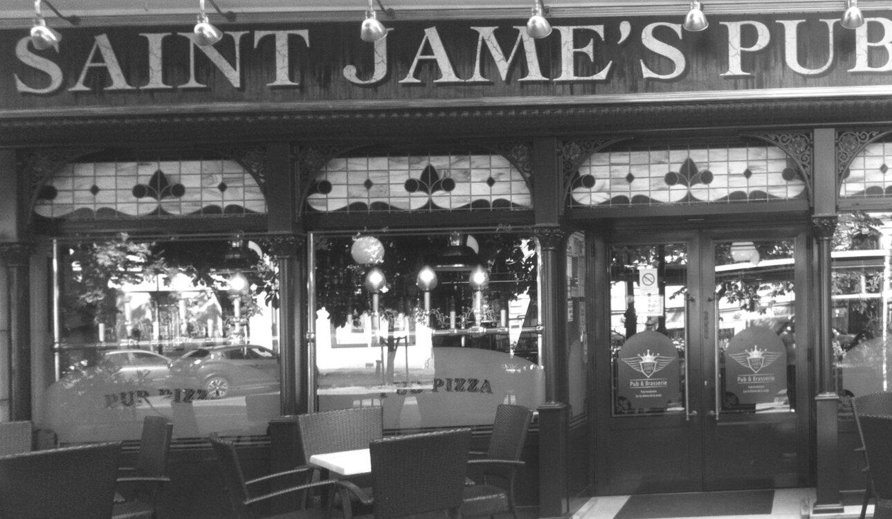 Logo de Saint James Pub